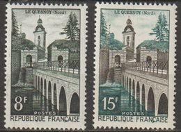 FRANCE : N° 1105 Et 1106 ** (Le Quesnoy) - PRIX FIXE - - Ungebraucht