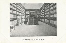Badia Di Cava Biblioteca . Undivided Back - Cava De' Tirreni