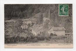 - CPA CORRAVILLERS (70) - Les Usines - Cliché Chaffenet 424 - Edition Bailot - - Frankreich