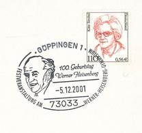 Werner Karl Heisenberg War Ein Deutscher Wissenschaftler Und Nobelpreisträger, Der Zu Den Bedeutendsten Physikern - Nobel Prize Laureates