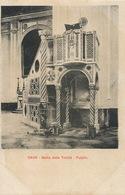 Cava  Badia Della Trinita . Pulpito. Edit Ragozino Napoli  Undivided Back - Cava De' Tirreni