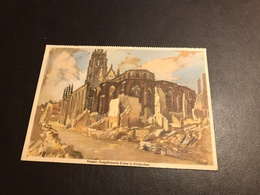 Dunkerque - Feldpost-karte - Kaspar - Ausgebrannte Kirche In Dünkirchen - Guerre 1914-1918 - Dunkerque