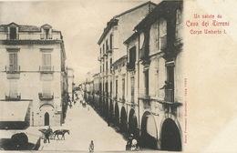 Cava Dei Tirreni  Corso Umberto I . Edit Giustiniani  Undivided Back. - Cava De' Tirreni