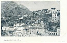 Badia Della SS. Trinita Di Cava . Undivided Back . Edit Richter Napoli - Cava De' Tirreni