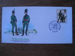 1983 FDC  Royal Green Jackets, Armée Britannique - FDC