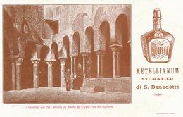 Advert Badia Di Cava Metellianum Stomatico Di S. Benedetto - Cava De' Tirreni