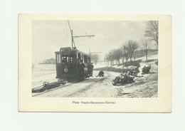 SUISSE - HAUTS GENEVEYS - CERNIER - Joli Plan Tramway Piste Avec Lugeurs Animé Bon état - NE Neuchâtel