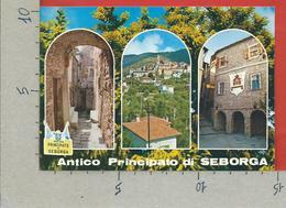 CARTOLINA VG ITALIA - ANTICO PRINCIPATO DI SEBORGA - Vedutine Multivue - 10 X 15 - 1987 - Imperia