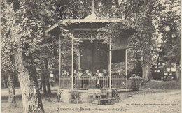 """1905 Luxeuil Les Bains """" Kiosque Dans Le Parc  """"   Cachet Commerce  - ( Vers Héricourt ) - Luxeuil Les Bains"""