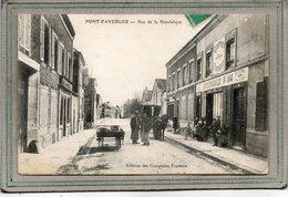 CPA - PONT-FAVERGER (51) - Aspect Des Comptoirs Français Succursale N°164 Rue De La République En 1908 - Other Municipalities
