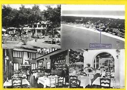 """CAP-FERRET Rare 4 Cp Hôtel Restaurant """"La Forestière"""" (Van Eyk Rouleau Chatagneau) Gironde (33) - Francia"""
