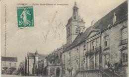 1911  Luxeuil Les Bains - Eglise Saint-Pierre Et Presbytère - Luxeuil Les Bains