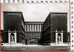 """Roma """"Foro Italico-ex Accademia"""" Cartolina Animata Viaggiata 1951 -------(7883E) - Enseignement, Ecoles Et Universités"""