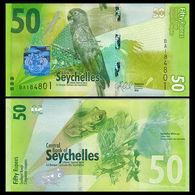 SEYCHELLES 50 Rupees 2016 UNC P New - Seychelles