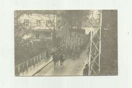 40 - MONT DE MARSAN - CP PHOTO - Troupe De Militaires Defilant Sur Le Pont Du Commerce Trés Bon état - Mont De Marsan
