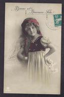 CPA Enfant Jolie Fillette Très élégante En Tenue De Gitane - Pretty Girl Photo - Abbildungen