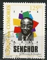 Comores - Comoros - Komoren 2007 Y&Tn°1183 - Michel N°(?) O - 125f L Sédar Senghor - Comores (1975-...)