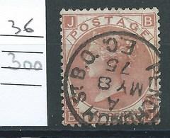 Grande Bretagne - N°36.  Cote 300€ - Used Stamps