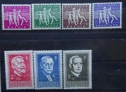 BELGIE 1955   Nr. 979 - 985     Postfris **      CW  70,00 - Belgique