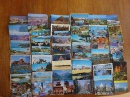 Pays Etrangers Lot De 53 Cartes Postales Des Années 60 à 90 - 5 - 99 Cartes