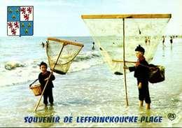 > [62] Pas De Calais > LEFFRINCKOUCKE   / PECHEUR  DE CREVETTES /  B18 - Frankreich