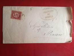 Regno 1875 Servizi,francobollo Di Stato,0,20 Isolato ,v29 - Dienstpost