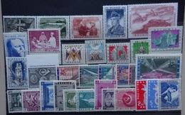 BELGIE 1957   Van   Nr. 1032 Tot 1065   Postfris **      CW  71,00 - Belgique