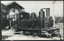 Photo Tirage Récent - TA - Dépôt Gare De St-Jean Le Vieux - Tramways De L'Ain - Locomotive Type 030 T N° 52 - 2 Scans - Autres Communes