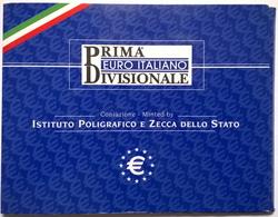COFFRET BU - ITALIE - 2002 - 1cts à 2€ (8 Pièces) - Italia