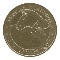 Monnaie De Paris , 2012 , Thonac , Le Thot , Le Cheval De Przewalski Et L'auroch - Monnaie De Paris