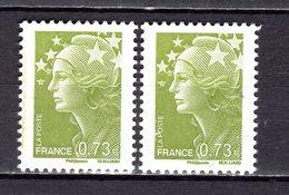 FRANCE LOT DE 2 TIMBRES DE 2009 N 4342 NEUF ** LUXE - France