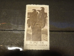 ITALIE   Vignette ROMA 1911 EXPOS INTERNATIONALE - 1878-00 Umberto I