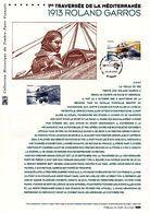 """FRANCE 2013 """" ROLAND GARROS """" Sur Document Philatélique Officiel 1er Jour. N°YT PA 77 Parfait état ! - 2010-...."""