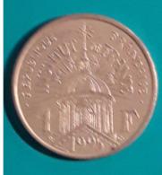 1 Francs Institut De France  1995  Tbe - H. 1 Franco