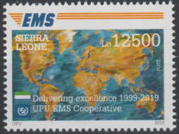Sierra Leone 2019 Mi. ? Joint Issue 20e Anniversaire EMS 20 Years Emission Commune E.M.S. UPU - Sierra Leone (1961-...)
