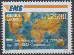 Sierra Leone 2019 Mi. ? Joint Issue 20e Anniversaire EMS 20 Years Emission Commune E.M.S. UPU - Emisiones Comunes