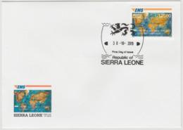 Sierra Leone 2019 Mi. ? FDC Joint Issue 20e Anniversaire EMS 20 Years Emission Commune E.M.S. UPU - Emisiones Comunes