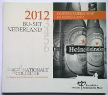 COFFRET BU - PAYS-BAS - 2012 - 1cts à 2€ + 2€ Comm. (9 Pièces) - Nederland