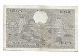 100 Fr - 03.12.35 - 100 Francs & 100 Francs-20 Belgas