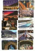 ANDORRA. Bienvenue à Andorra La Vella.   10 Diff. Tickets Parkings D'ANDORRE VILLE. - Andorre