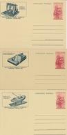 ITALIA - 1953 - SERIE COMPLETA DI 5 CARTOLINE POSTALI DEDICATE A LEONARDO DA VINCI - - 6. 1946-.. Republic