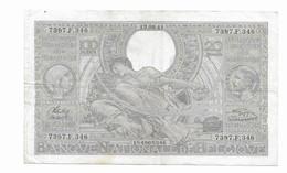 100 Fr -19.08.41 - 100 Francs & 100 Francs-20 Belgas