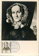49775 Germany Maximum 1956 Amalie Sieveking, Founder Of Poor Sick People - [7] Federal Republic