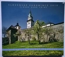 COFFRET BU - SLOVAQUIE - 2010 - 1cts à 2€ + Médaille Comm. (8 Pièces+ 1 Médaille) - Slowakije