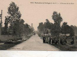 Montauban  De  Bretagne -   L' Avenue  De  La  Gare. - Autres Communes