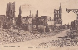 CP Belgique Flandre Occidentale Ypres Iepper La Rue Au Beurre - Ieper