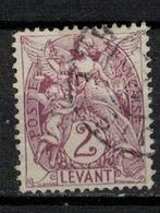 LEVANT           N°  YVERT  10      OBLITERE       ( Ob   5/61 ) - Levant (1885-1946)