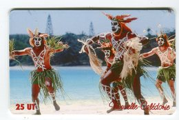 Telecarte °_ N-Calédonie-106-Danseurs De Wapan-25 U-gem-01.03- R/V 3172 ° LUXE - Neukaledonien