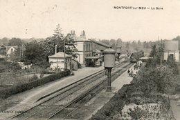 Montfort  Sur  Meu -   La  Gare. - Autres Communes