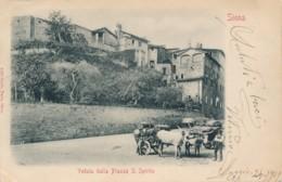 2a.41. SIENA - Veduta Dalla Piazza S. Spirito - 1901 - Siena